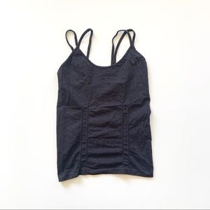 VSX Strappy Seamless Charcoal Tank Active Cami S